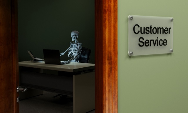 Is customer service simply an oxymoron?